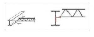 تیرچه کرومیت در اسکلت فولادی